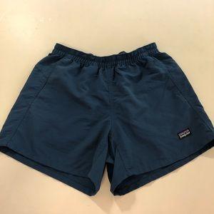 Patagonia Baggies Shorts, XS, Dark Teal Aqua
